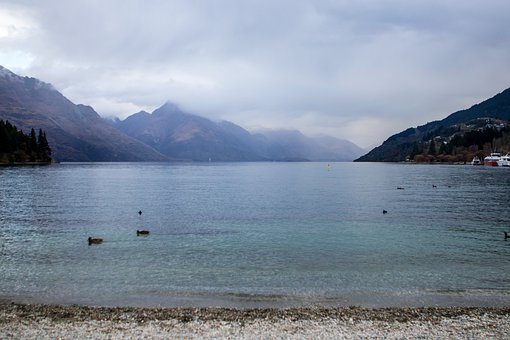 Queenstown, New Zealand, Lake, Nature, Landscape