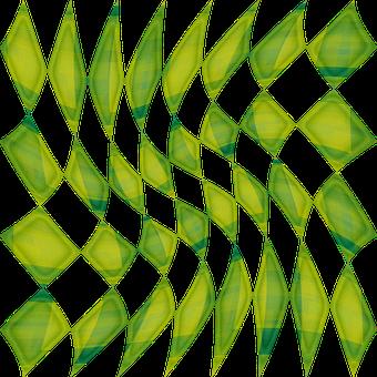 Rhomboid, Rhombus, Checkered, Geometric, Shapes