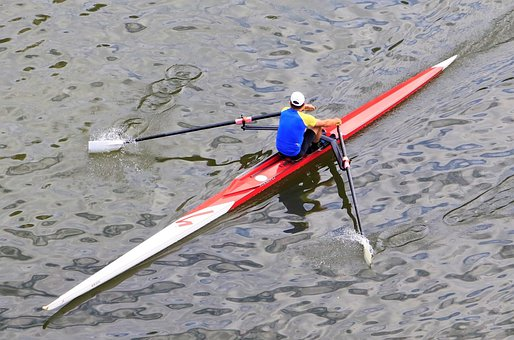 Rower, Sport, Rowing, River, Water Sports, Water, Lake