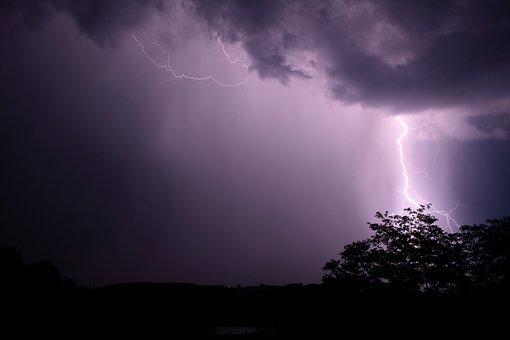 Lightning, Flash, Thunder, Storm, Weather, Nature, Sky
