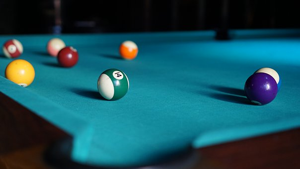 Billiards, Pocket Ball, Table Sports, Billiard Table