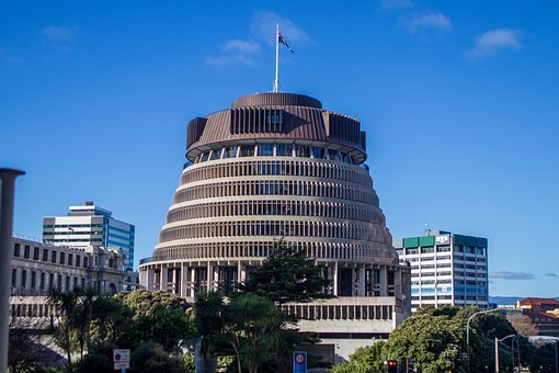 The Beehive, New Zealand, Wellington, Building, Travel