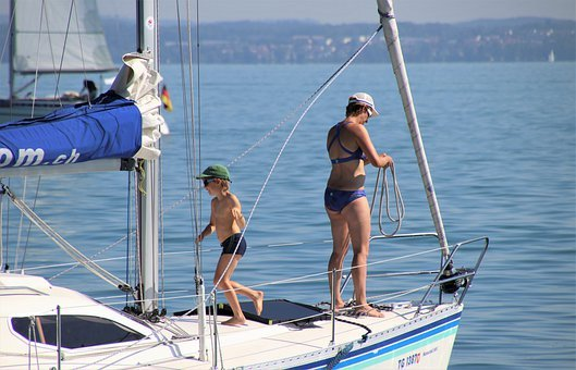 The Mast, Sailboat, Boat, Cruise, Relaxation
