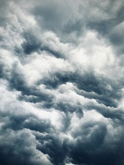 Clouds, Thunderstorm, Sky, Cumulus, Storm, Cloudy Day