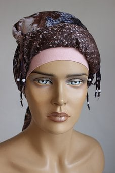 Woman, Model, Mannequin, Headband, Hijab, Tichel