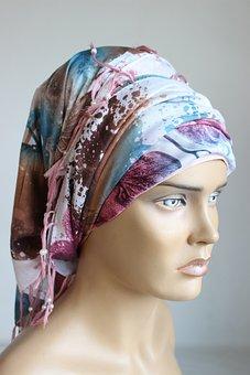Woman, Mannequin, Tichel, Scarf, Hijab, Muslim