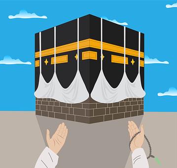 Kaaba, Prayer, To Pray, Mecca, Muslim, Qibla, Allah