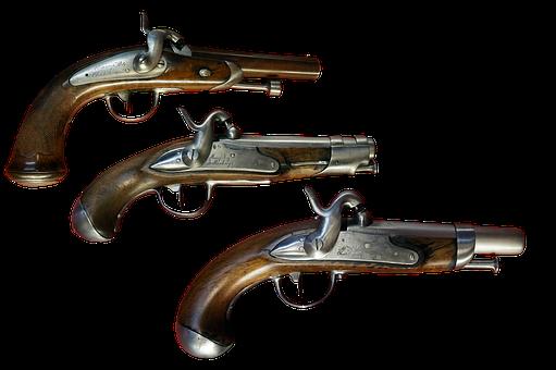 Guns, Old, Vintage, History, Vintage Guns, Old Guns