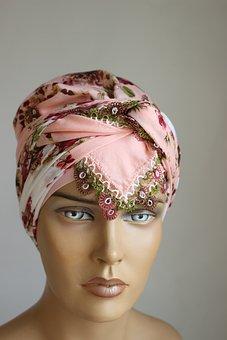Woman, Mannequin, Scarf, Tichel, Turban, Hijab, Turkish