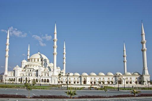 U A E, Fujaira, City, Central Mosque Fujaira, Mosque