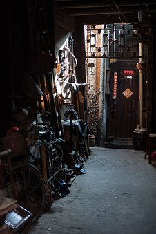 Alley, Corridor, Storage, Gangway, Folk House