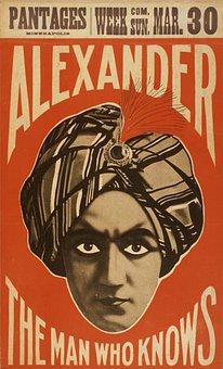 Man, Face, Turban, Magic, Eyes, Red, Alexander, Creepy