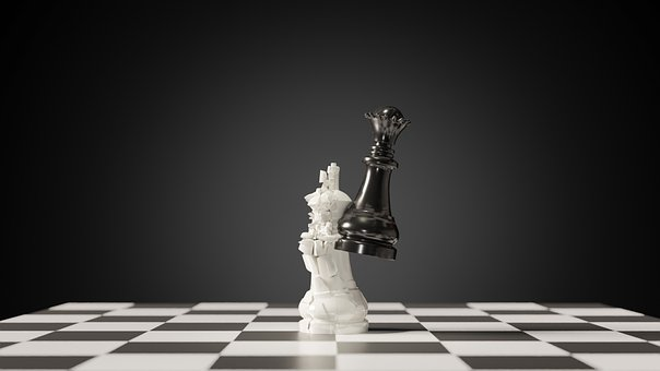 Chess, King, Queen, Game, Strategy, Play, Think