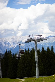 Mountains, Mountain Railway, Cable Car, Cableway