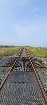 Rail, Railway, Track, Train, Railroad, Transport
