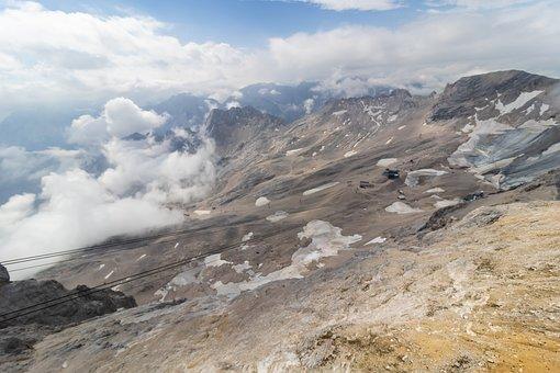 Zugspitze, Tyrol, Austria, Bayern, Germany, Alps