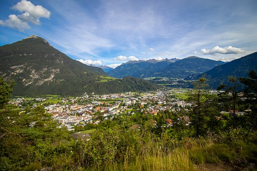 City, District Imst, Imst In Tyrol, Tyrol, Austria