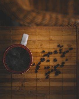 Coffee, Moody, Brown, Texture, Halloween, Coffee Beans