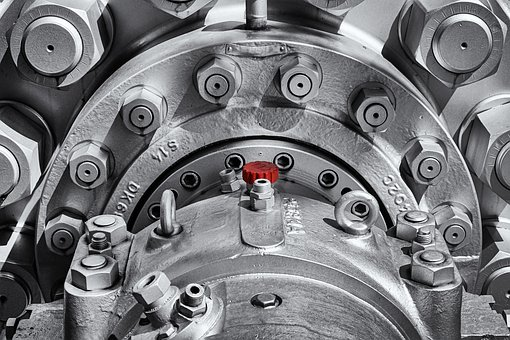 Machine, Steel, Industry, Metal, Technology, Mechanical