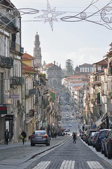 Street, Buildings, Urban, Architecture, Portugal, City