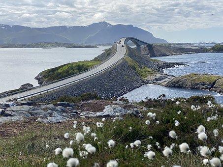 Atlanterhavsvegen, Turistvei, Nordmøre, Road, Bridge