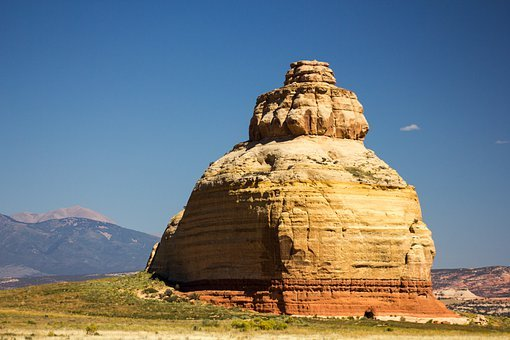 Church Rock, Utah, Sandstone, Landscape, Rock, Sand