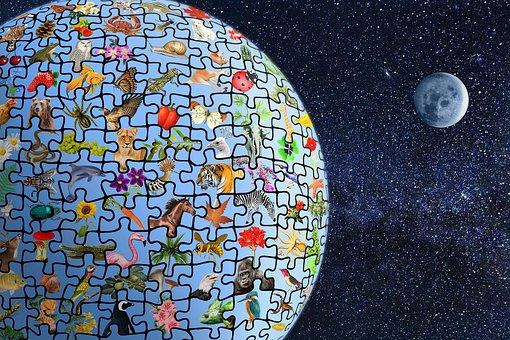 Biodiversity, Planet Earth, Puzzle, Ecosystem