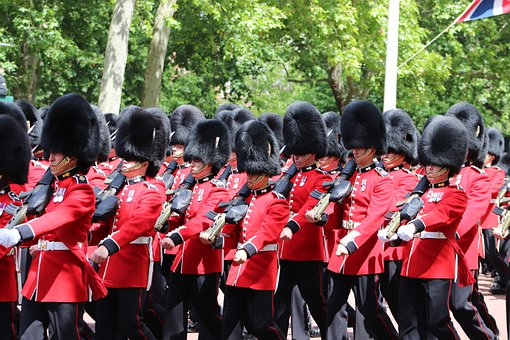 Guards, London, Soldier, British