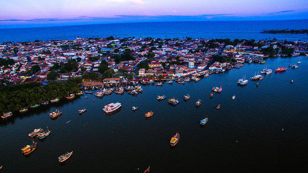 Praia, Porto Seguro, Bahia, Drone, Brasil, Vistodecima