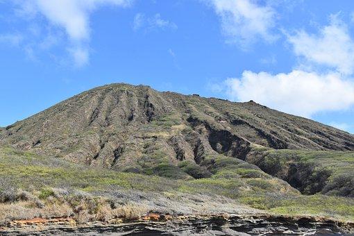 Hawaii, Oahu, Tropical, Koko Crater, Nature, Landscape