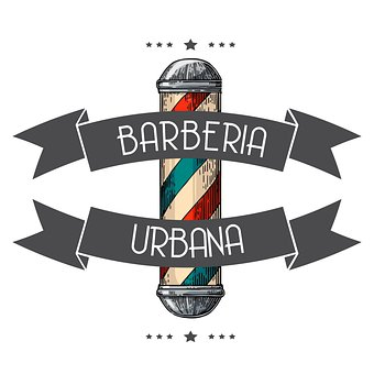 Barber, Barbershop, Hairdressing, Design, Logo
