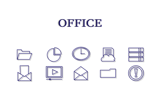 Documents, Folder, File, Clock, Mail, Letter, Website