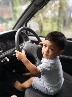 Baby, Car, Malay, Baby On The Wheels, Baby Driving