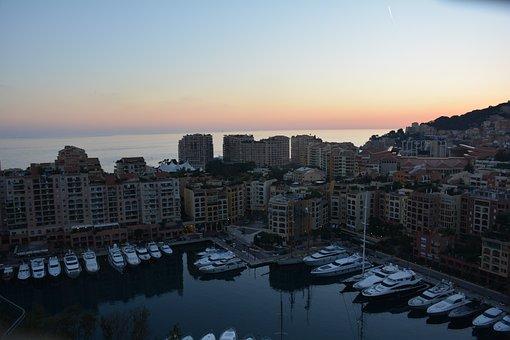 Monaco, Zachód, Port