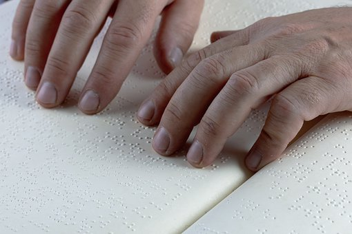 Braille, Hands, Keys, Read, Visually Impaired, Touch