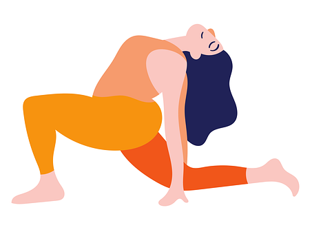 Yoga, Backbend Pose, Yoga Pose, Meditation