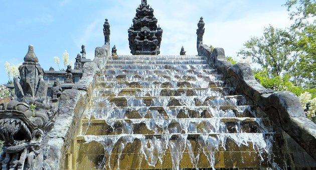 Peri Daiza, Belgium, Leisure Park, Cascade, Indonesia