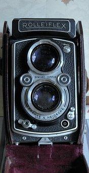Camera, Tlr, Photography, Blue Camera