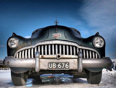 Buick, Classic Car, Russian