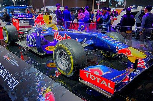 Red Bull, Formula 1, Racing Car, Car Show, Shanghai