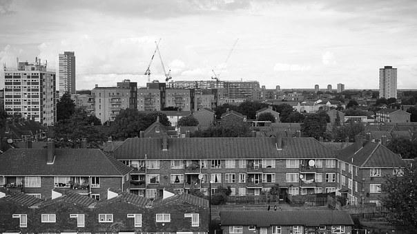 Urban, Skyline, City, Downtown, Building, Architecture