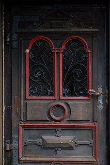 Entrance Door, Wooden Door, Input, Door, Old