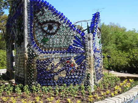 Butterfly Garden Art, Garden Art, Garden, Butterfly