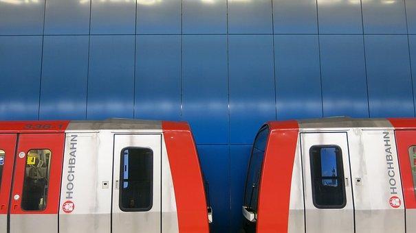 Metro, Line U4, Hamburg, Hochbahn