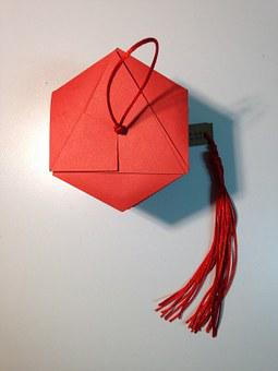 Homemade Envelopes, Handmade Products, Red