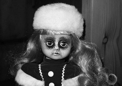 Doll, Face, Horror, Head, Eyes, Mystical, Creepy