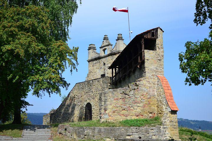 Castle, Castle Ruins, Walls, Historical Monument