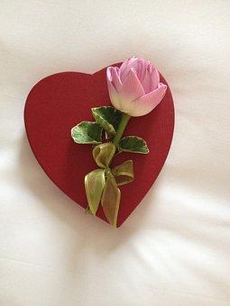 Sweets, Heart, Lotus, Lotus Flower, Valentine
