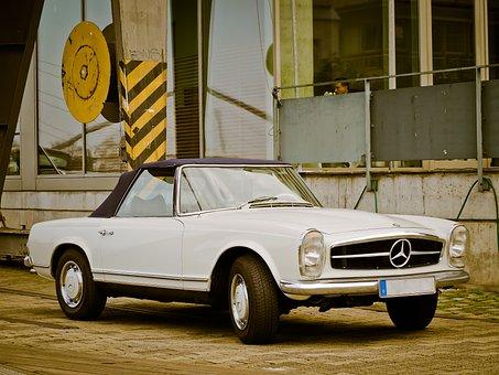 Auto, Mercedes, Oldtimer, Mercedes Benz, Classic