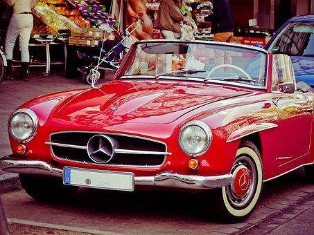 Auto, Mercedes Benz, Mercedes, Vehicle, Oldtimer